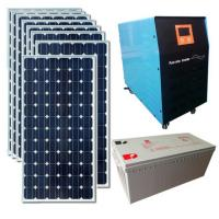 Buy cheap LEDs Solar Solar generator system and network 5KW home industrial photovoltaic distribution board a full power supply from wholesalers
