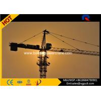 Buy cheap Hammerhead Hydraulic Tower Crane Capacity 8T With Schneider Electric Box from wholesalers
