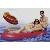Buy cheap hot sale PVC inflatable floating lounge from wholesalers