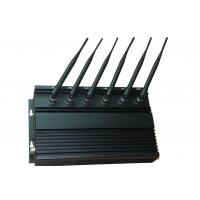 Buy cheap High Power WIFI 2G / 3G Cell Phone Jammer with Cooling Fans , 6 Antenna from wholesalers