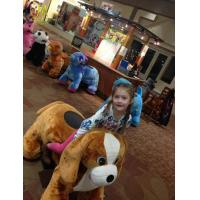 Buy cheap Hansel 2018 amusement ridde battery operated electric riding horse machine stuffy animal amusement park equipment rides from wholesalers
