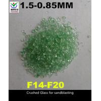 Buy cheap 1-3mm Recycled Bottle Glass Blasting Media , Recycled Glass Grit SGS Approved from wholesalers