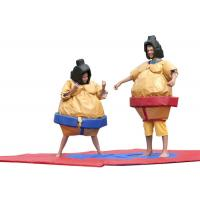 Buy cheap Kids Inflatable Sumo Wrestling Suits Costume ,  Adult Sport Games Blow Up Sumo Wrestling from wholesalers