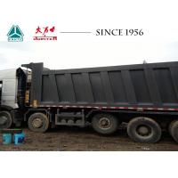 Buy cheap HOWO A7 10X4 14 Wheeler Truck 35CBM Euro IV Low Oil Consumption With Lifting from wholesalers