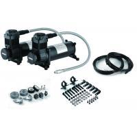 Cars Air Suspension Compressor Durable 12v Air Compressor With Tank Black