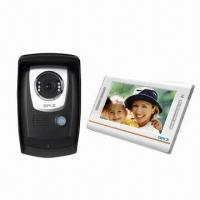 Buy cheap Door bell system with video for villa,wired intercom,two way intercom and IR camera,leave message from wholesalers