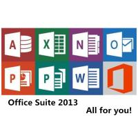 Buy cheap Home and Student Microsoft Office 2013 Key Code License Windows 32 Bit 64 Bit Personal from wholesalers