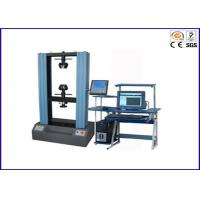 Buy cheap Universal Tensile Testing Machine / Lab Testing Equipment 1 ~ 20KN Computer Servo Control from wholesalers