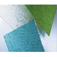 Buy cheap Construction Material Bayer Embossed Polycarbonate Sheet 3mm Thick 2.1m Width from wholesalers