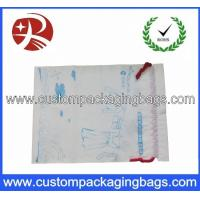 Buy cheap Duty Free Drawstring Plastic Bags Waterproof With Gusset For Cloth from wholesalers