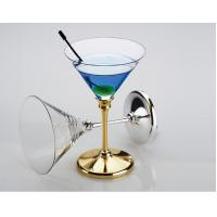 Buy cheap wine glass, champagne glass, Crystal Cup,wine cup, crystal glass,wine promotional gift from wholesalers