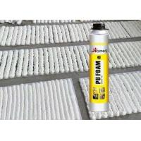 Buy cheap Winter Type PU Foam Spray Sealant 15 Centigrade Ambient Temperature Heat & Cold Resistant from wholesalers