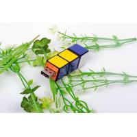 Buy cheap Multicolor Twister Cube 4GB USB Flash Drive OEM Brand 2.0 from wholesalers