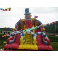 Buy cheap Outside Inflatable Commercial Inflatable Slide 8.5L x 5W x 6.5H Meter for Children, Adults product