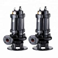 Buy cheap Centrifugal 3 Phase Submersible Sewage Pump Residential Areas Applied from wholesalers