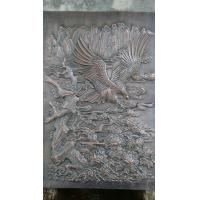 Buy cheap Chinese Style Handcarved Interior Decoration Eagle Relief Bronze Wall Relief from wholesalers