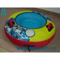 Buy cheap HM Sports Products Co., Limited snow tube river tubing river floating rubber tubing ski tubing hard bottom from wholesalers