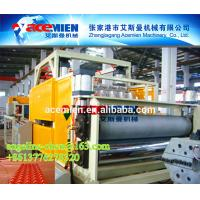 Buy cheap PVC/UPVC stone powder antique glazed roof tile making extrusion machine producton line product