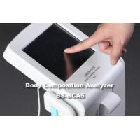Buy cheap CE Approved Body Fat Checking Machine With Big Scale Colorful Touch Screen Control Panel from wholesalers