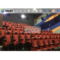Buy cheap 1 Seat 2 Seats Simulation Rides Movie Theater System 4D With Arc / Flat Screen product