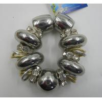 Buy cheap Deluxe Elastic Alloy Ladies Charm Bracelet Shining Diamond For Party product