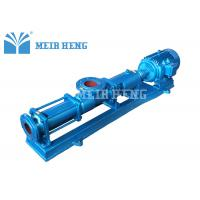 Buy cheap Cast Iron Single Screw Pump Horizontal Screw Pump For Slurry Sludge Axial Flow from wholesalers