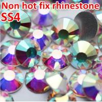 China Top China swaro crystal stone wholesale nails stones for design ss4 crystal ab on sale