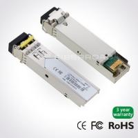 Buy cheap 1.25Gbps DWDM SFP 80KM Optical Transceiver Module For Gigabit Ethernet from wholesalers