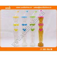 Buy cheap plastic yard cup with printing novelty slush yard glass beer cup with straw from wholesalers