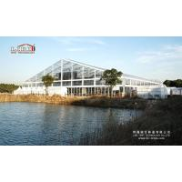 Buy cheap Clear Transparent Roof Aluminum Structure For Event Party, 300 People Capacity Marquee Hall from wholesalers