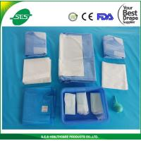 Buy cheap China Manufacturer Disposable Surgical Cesarean Drape Pack from wholesalers