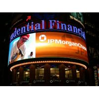 China Full Color P20 Outdoor LED Display for Advertising , Large Curved LED Video Screen on sale