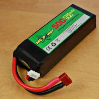 Buy cheap 4500mAh 25C 22.2V RC lipo helicopter battery from wholesalers