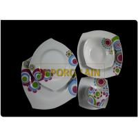 Small Strong Construction Square Dinner Plate Sets Flexible Options Available