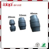 Plastic pipe fittings compression fitting