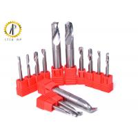 Buy cheap Single Flute End Mill Cutters , Small Diameter Aluminum Cutting End Mills from wholesalers
