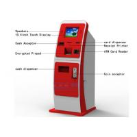 Buy cheap Post Office Customer Service Kiosk , Magnetic Card Dispenser Recharge Payment Kiosks from wholesalers