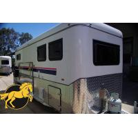 Buy cheap (Square Roof)2 Horse Angle Load Camping Horse Float from wholesalers