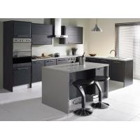 Buy cheap Kitchen set prices new fresh matt wood veneer kitchen cabinet from wholesalers