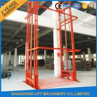 Buy cheap Lead Rail Hydraulic Heavy Duty Elevator Lift Equipment Outdoor 200mm Pit Depth from wholesalers