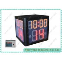 Buy cheap Wireless LED Digital Shot Clock For Basketball With Game Time , Shot Clock In Basketball from wholesalers