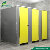 Buy cheap 12mm thickness phenolic public compact laminate waterproof hpl shower cubicle partition from wholesalers
