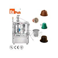 Buy cheap CPL-2501 Linear Coffee Capsule Filling And Sealing Machine from wholesalers