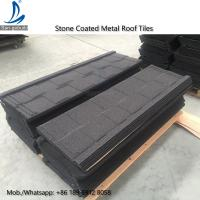Buy cheap Flat Style Roof Tile Roof, Step Tile Roofing Sheet, Stone Chip Coated Terracotta Roof Tile from wholesalers