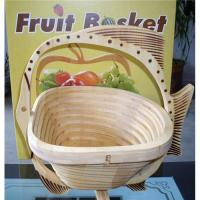 Buy cheap Bamboo fruit basket from wholesalers
