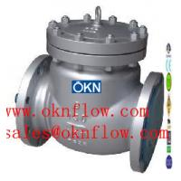 Buy cheap 14  WCB/WCC/WC1 flanged check valve/sales@oknflow.com from wholesalers