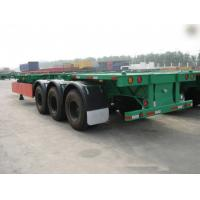 Buy cheap 40 Feet Container Carrying Flat Bed Semi Trailer With JOST Landing Leg / semi flatbed trailers from wholesalers