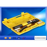 Buy cheap 10MM stroke Hexagon Manual Hydraulic Crimping Tool Crimping Up to 4-70mm2 from wholesalers