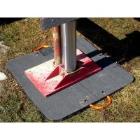 Buy cheap Customized Ultra High Molecular Weight Polyethylene Sheet Heavy Duty Crane Outrigger Pad from wholesalers