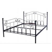 Buy cheap top quality metal double cot bed designs B017 from wholesalers